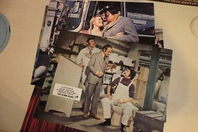 Carry On Round The Bend - British Foh Lobby Card Complete Set Of 8