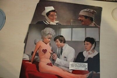 Carry On Again, Doctor - British Foh Lobby Card Complete Set Of 8