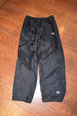 Helly Hansen Rain Pants Pack-able Fold into their Own Pocket Sz L New Never Worn