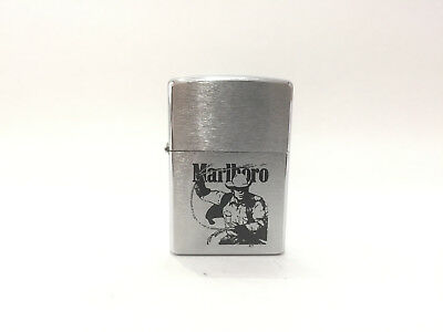 Zippo Marlboro Cowboy Rodeo Used Mint Condition 1998 - G
