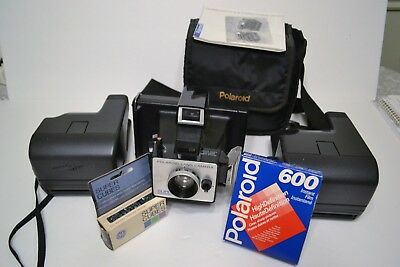 Group Of 3 Polaroid Cameras - Land Camera, One Step And One Step Close Up