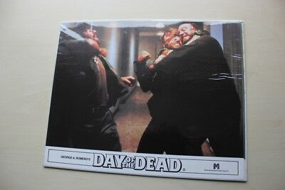George A. Romero's Day Of The Dead - Full Set Of 8 British Lobby Cards