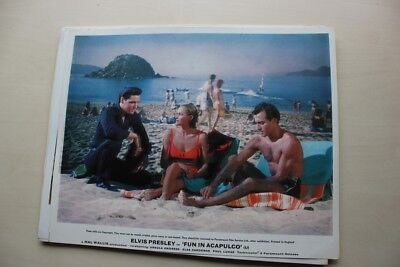 Elvis Presley - Fun In Acopulco  - Original British Lobby Card #2