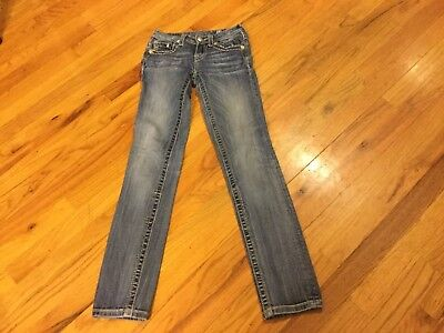 Girls Miss Me jeans size 12 denim skinny with sequins