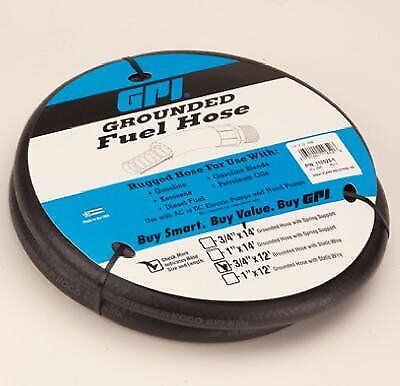 """Dee Zee 110523-1 3/4"""" X 12' Hose Assembly With Static Wire"""