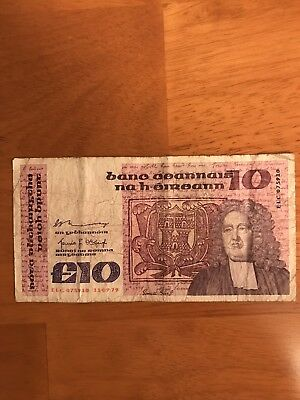 Ireland 10 Pounds 1979 P-72a> FF