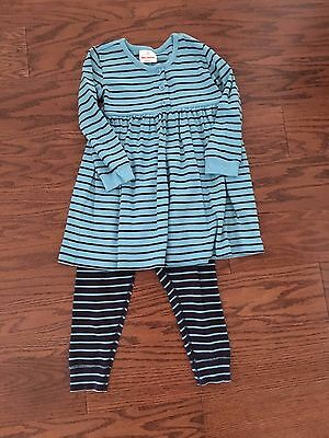 Hanna Andersson Playdress & Pants Set Size 100 (US 4)