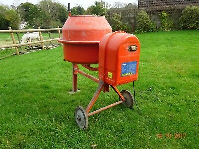 cement concrete mixer 100 litre 100l