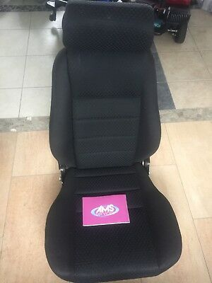 Pride Quantum 600 Power Chair / Electric Wheelchair Seat Unit & Headrest - Parts