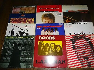 50 LPS Vinyl Record Collection Job Lot 4