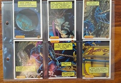 Legacy Comic Book Story Set Of 150 Collector Cards 1993 Majestic