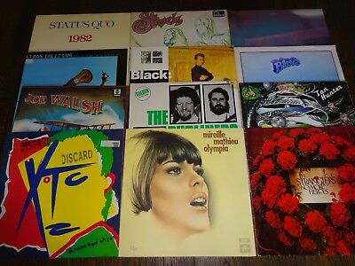 50 LPS Vinyl Record Collection Job Lot 8