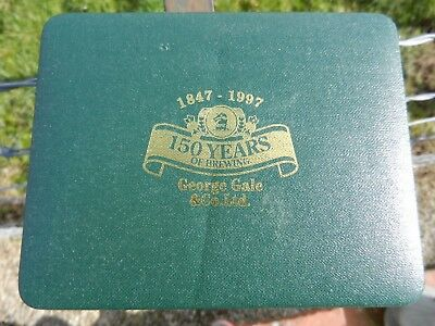 George Gale & Co Ltd, 150 years of Brewing, Twin pack of sealed Playing Cards