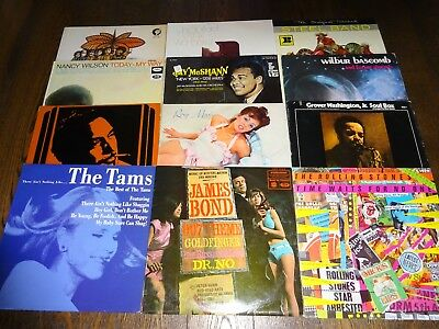 50 LPS Vinyl Record Collection Job Lot 10