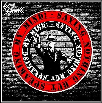 "Exit-Stance - Saying Nothing 12"" New Anarcho Punk Crass Conflict Icons Of Filth"