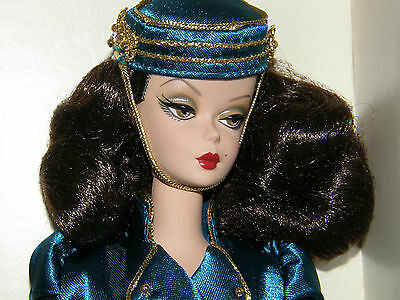 The Usherette Silkstone  Barbie- gold-label Fashion collector Doll!