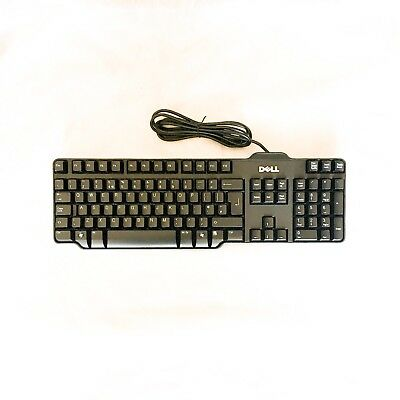 Clavier DELL SK-8115 RT7D50 PC Keyboard USB  Qwerty 104 touches Comme Neuf