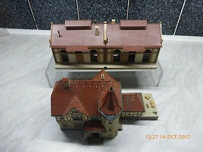 VOLLMER/OTHER 'N' 2 x LARGE GOODS SHEDS/WAREHOUSES - MADE
