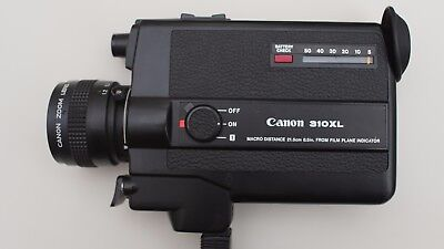 Canon 310XL Super 8 Camera. FULLY WORKING TESTED