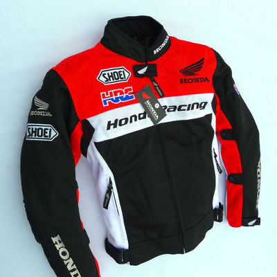 Motorcycle Jacket Vest Honda with Single Protection different sizes available