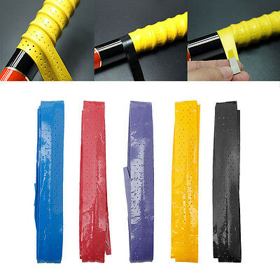 Anti Slip Racket Over Grip Roll Tennis Badminton Squash Handle Tape N