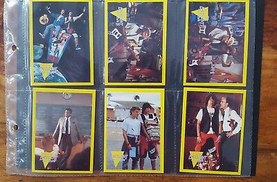 Bill & Ted Set Of 128 Collector Cards 1991 Merlin
