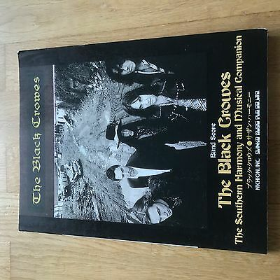 Rare Black Crowes Southern Harmony Guitar Band Tab Japanese Collector Item