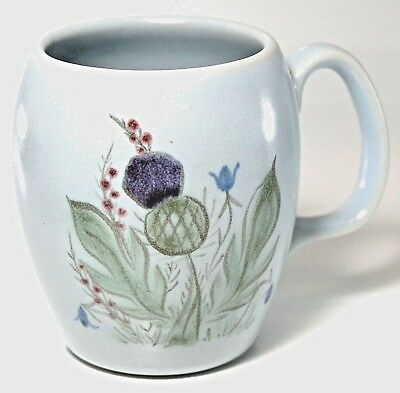 Buchan Portobello Pottery Scottish Thistle TO CLEAR Mugs  ONLY 5 left