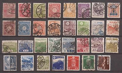 Japan - Lot Of Old Stamps