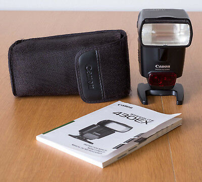 Canon Speedlite 430EX Shoe Mount Flash, good condition