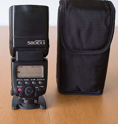 Canon Speedlite 580EX II Shoe Mount Flash, good condition