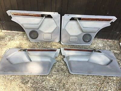 Mercedes W124 Estate door cards