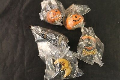 Lot of 5 Halloween Tree Ornaments by the Salem Collection L3