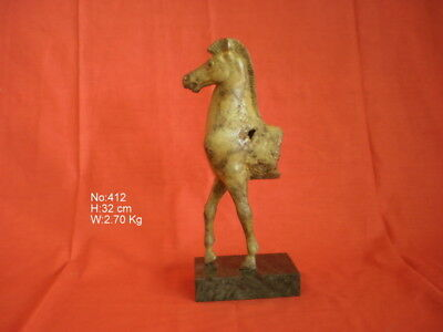 Horse From Olympia Ancient Greek Bronze Museum Replica