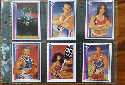 Gladiators Set Of 32 Collector Cards 1993 Merlin