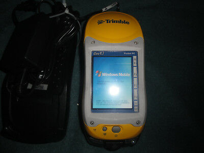 Trimble Geo Xt Geo Explorer Pocket Pc With New Charger And Two Cradles