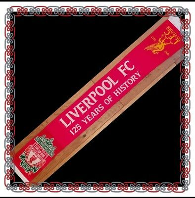 Liverpool Official 125 Year Anniversary Scarf  - Great Gift Idea