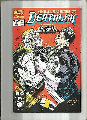 Deathlok  #6  The Punisher  Marvel  1991 Nice!!!