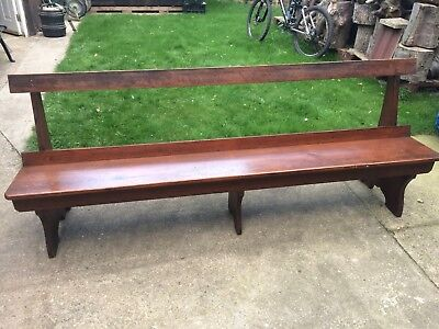 church pew, pitch pine, two available