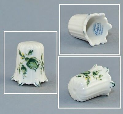 Lindner Germany Flowers Thimble # 3