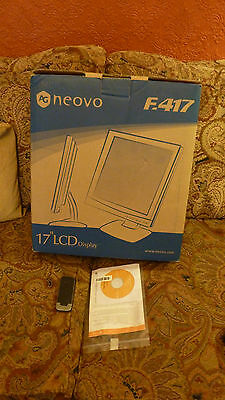 "REDUCED - Neovo F-417 17"" LCD Monitor"