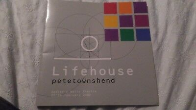 Pete Townshend The Who - Lifehouse programme Sadlers Wells February 2000