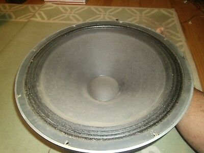 "JBL K 151 18"" woofer.   8 ohm.  Works great!"