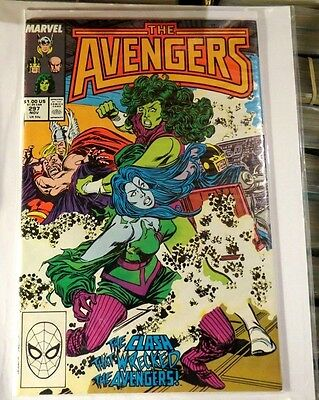 Avengers #297 Marvel Copper Age Comic CB1041