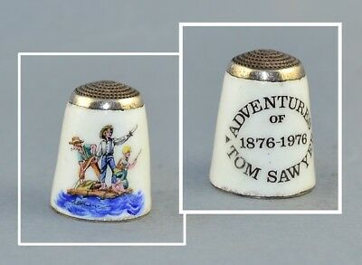 James Swann & Son Adventures Of Tom Sawyer Thimble