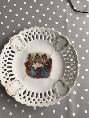 Welsh Tea Party Plate