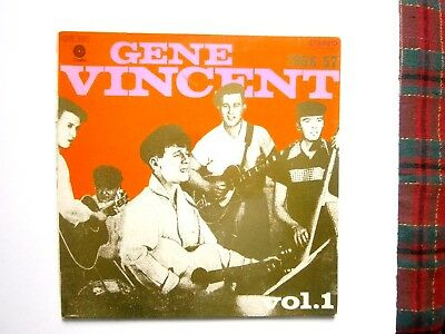 Gene Vincent Story Vol 1 1956 - 57 Gatefold Lp French Import Capitol Records