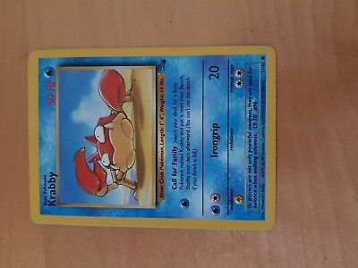 Krappy Pokemon 51/62 New condition Rare Find