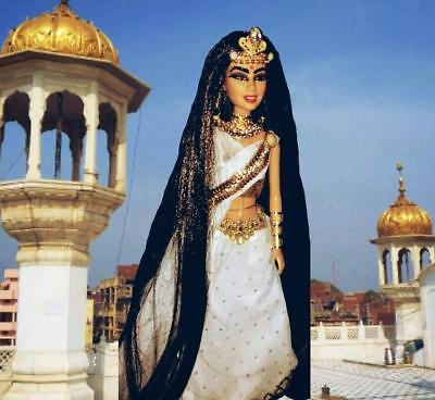 Princess of India Hindi Beauty ~ Barbie doll OOAK Dakotas Song Bollywood