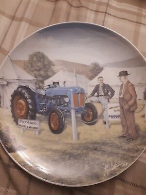 Fordson Tractor (1994 James Herriot`s Yorkshire) plate